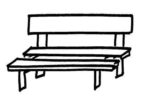 Dibujos de bancos para pintar - Fotos de bancos para sentarse ...