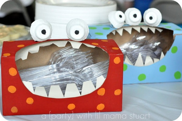 DIY Monster Party Decoration