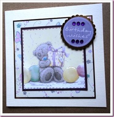 Tatty Teddy Card 1