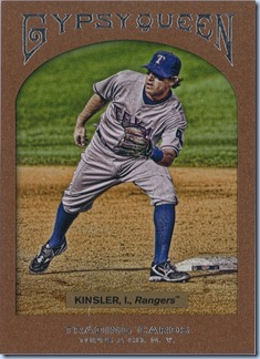 2011 Gypsy Queen Hobby Kinsler Framed