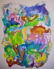 Susan Marx, 2015, Mozart's Meadow, 30x24, acrylic on canvas