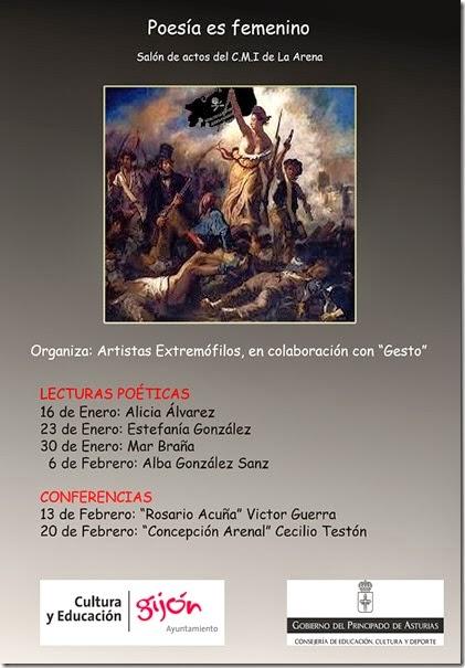EXTREMÓFILOS ACTOS ARENA