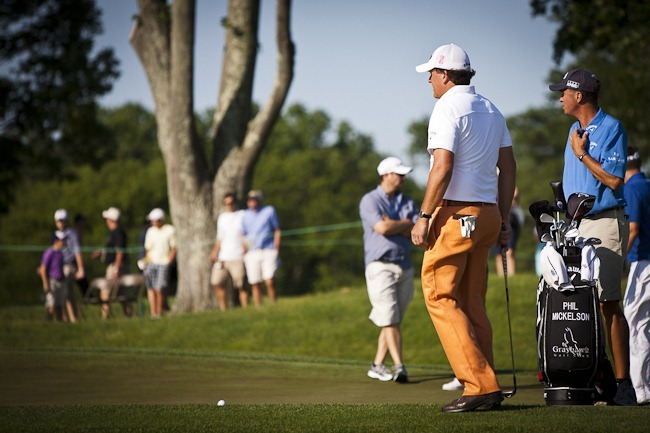 Phil Mickelson at 2011 US Open-5