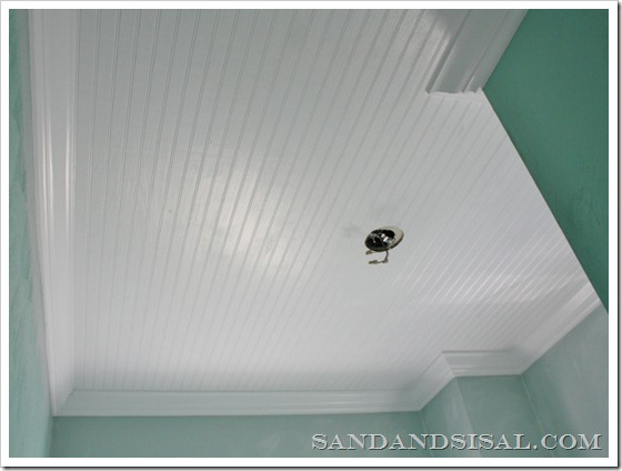 Bead Board Ceiling
