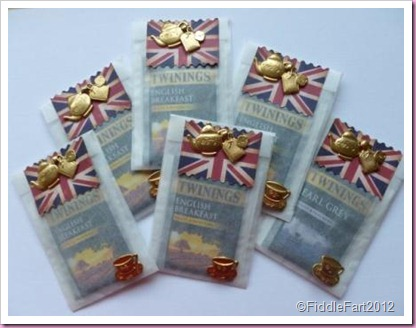 Diamond Jubilee Tea Bags Glassine Crafts