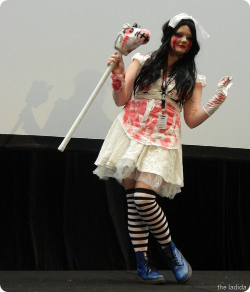 EB Expo Just 'Cos Cosplay Competition - Alice Hysteria Mode from Alice Madness Returns