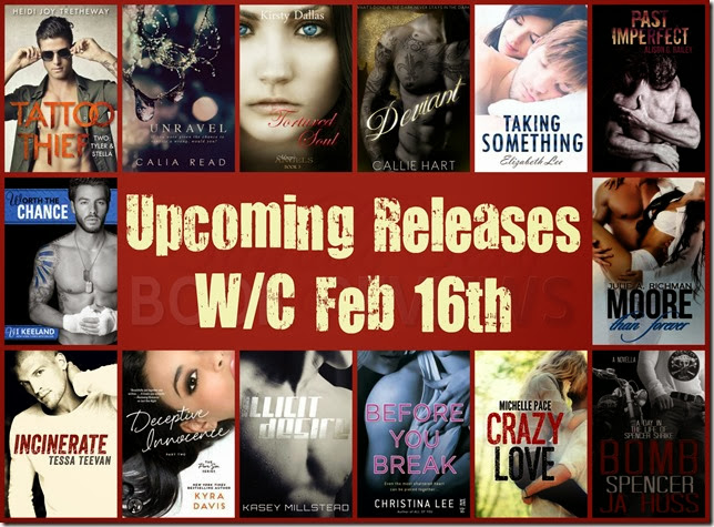 upcoming releases wc feb 16
