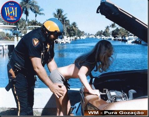 FLAGRANTE - O DIFÍCIL TRABALHO DE UM POLICIAL AMERICANO - Tem que ser muito durão