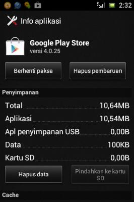 Google Play Store v4.0.25