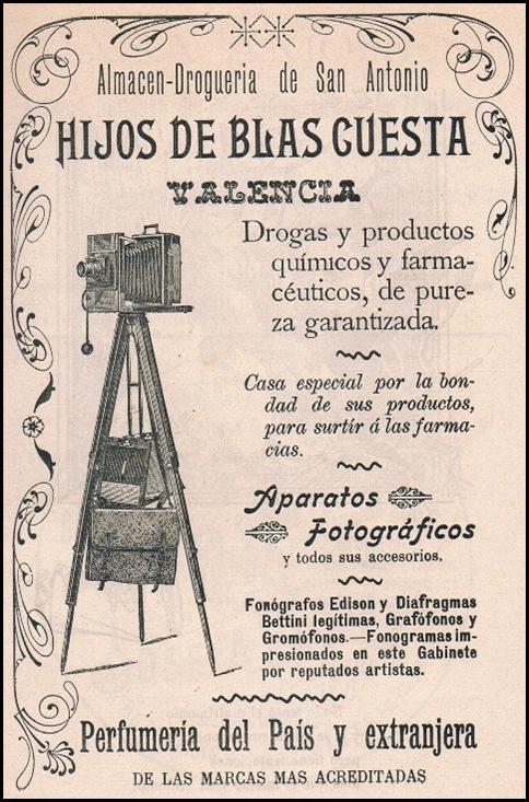 Hijos de Blas Cuesta. 1901