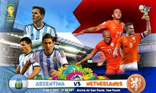 Belanda vs Argentina