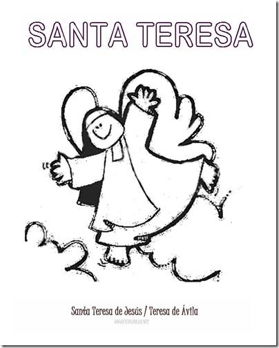 SANTA TERESA COLOREAR 4 1 1