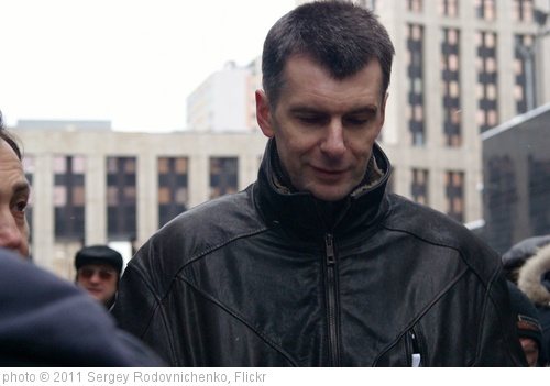 'Mikhail Prokhorov' photo (c) 2011, Sergey Rodovnichenko - license: http://creativecommons.org/licenses/by-sa/2.0/