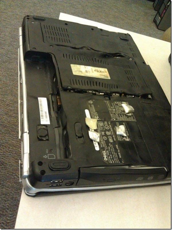 Nunca coloque seu notebook em um forno (3)