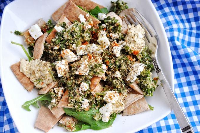 greek pita salad (27)