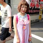 harajuku girl in Harajuku, Tokyo, Japan