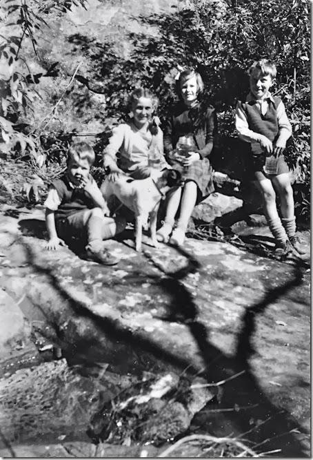 David, Cecily, Mary, Jim