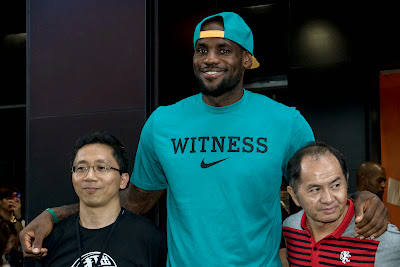 other event 140724 lebron rise tour asia 1 20 LeBron James Sneaker Rotation During 2014 Rise Tour in Asia