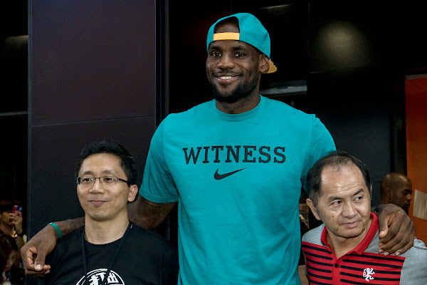 LeBron James8217 Sneaker Rotation During 2014 Rise Tour in Asia