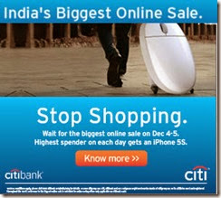 CITI Bank OMG Sale [21st oct]