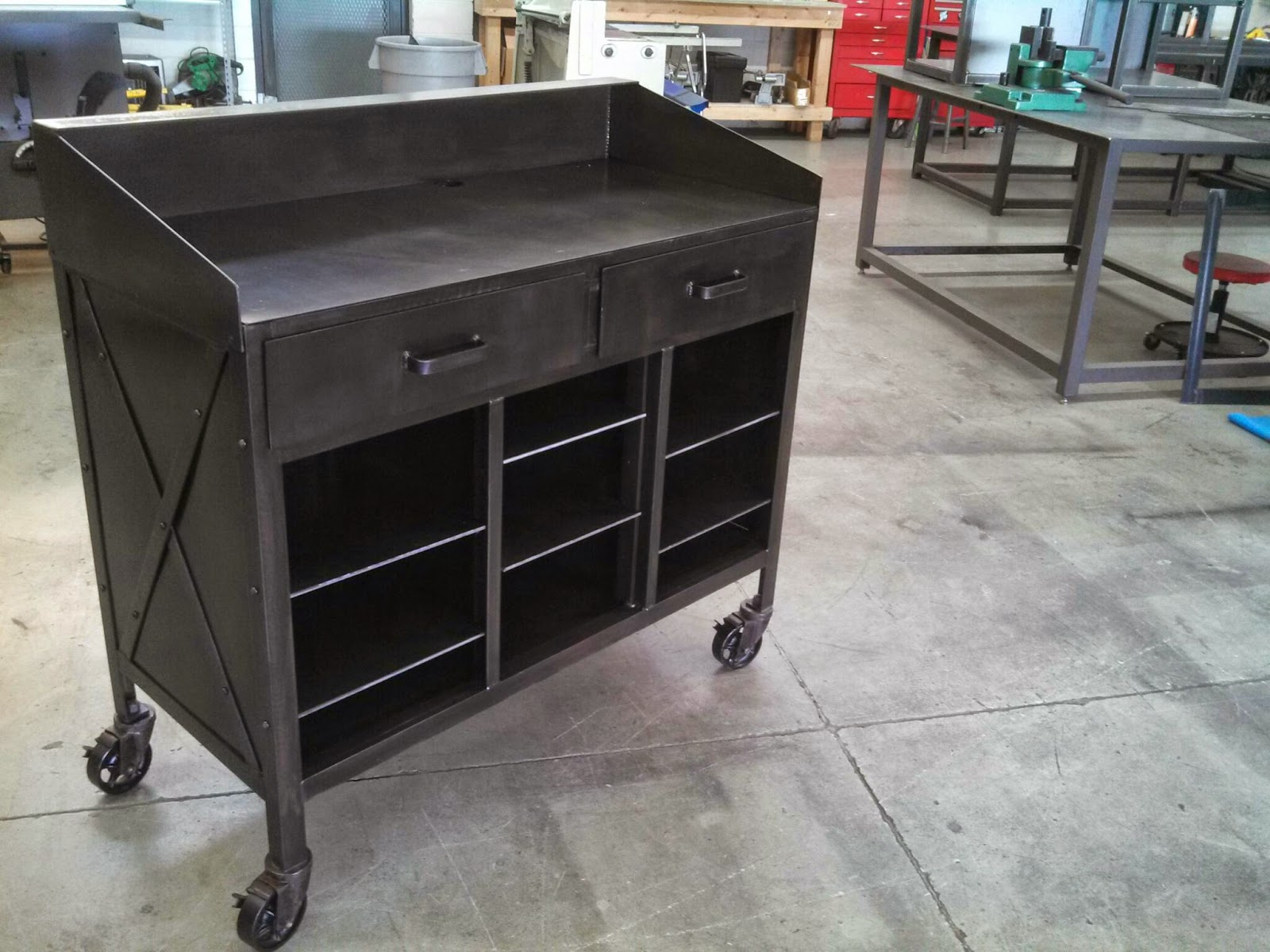 Real industrial edge furniture llc hostess stand