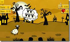 ساعد الخروف على الهروب داخل عالم المقبرة المخيفة فى لعبة الهروب من حديقة الحيوانات للأندرويد