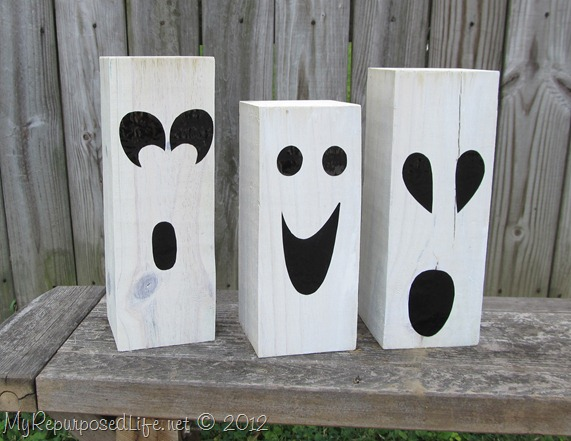 4x4 halloween ghosts