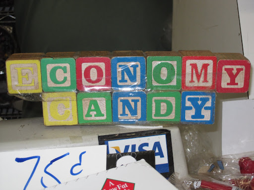 Economy Candy is located in the Lower East Side of Manhattan.