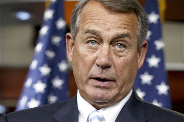 John Boehner, Speaker of the United States House of Representatives. Photo: J. Scott Applewhite / AP