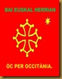 Bandièra occitana 2 Euskal Herrian