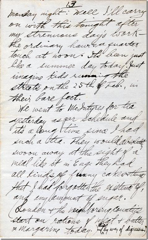 23 Feb 1918 13