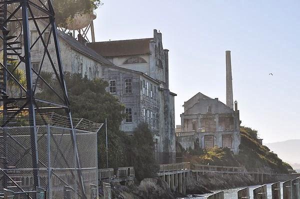 Alcatraz的舊宿舍