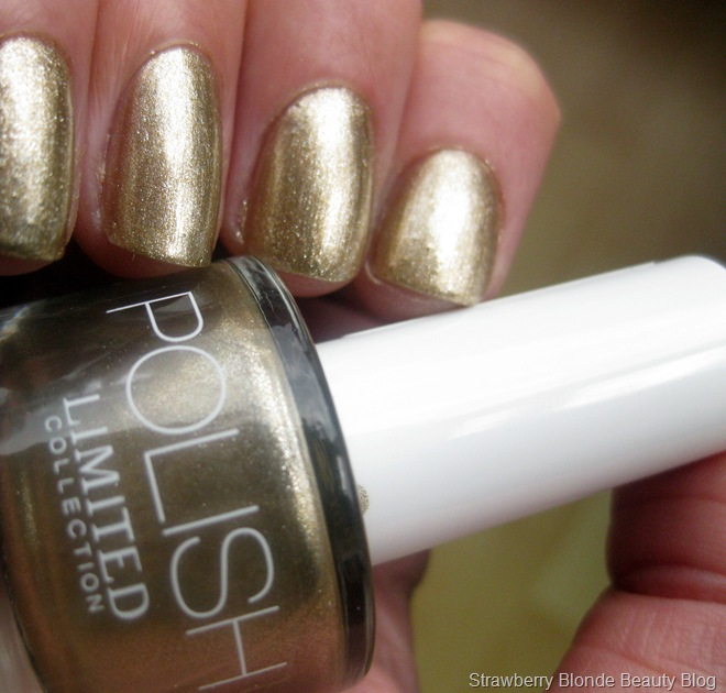 M&S Limited Collection Nail Polish GOLD