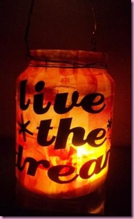 2012 New year Jar Lantern