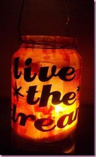 2012 New year Jar Lantern