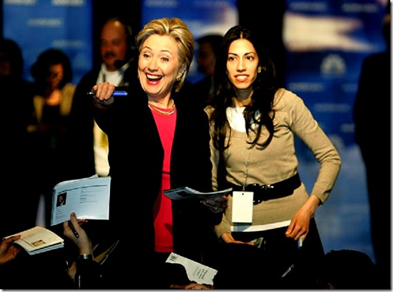 Hillary Clinton - Huma Abedin
