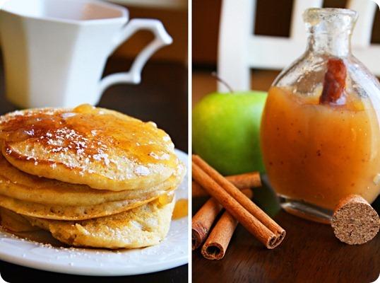 Apple Cider Pancake Syrup