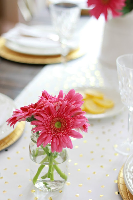 spring table flower atp