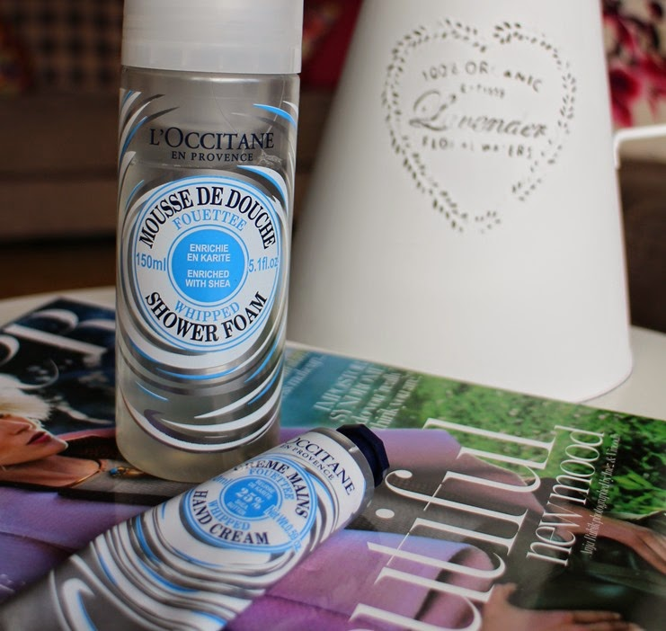 LOccitane-Whipped-Shea-Butter-Shower-Mousse Hand-Cream