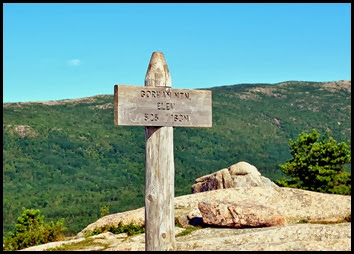 01f6 - Gorham Mtn Hike - the summit
