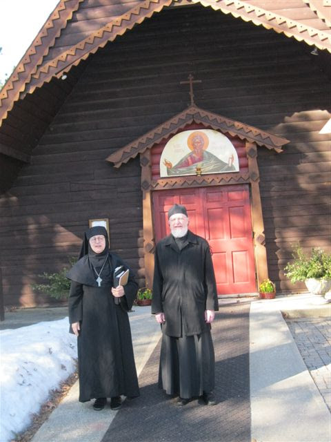 Fr. John and Mother Raphaela