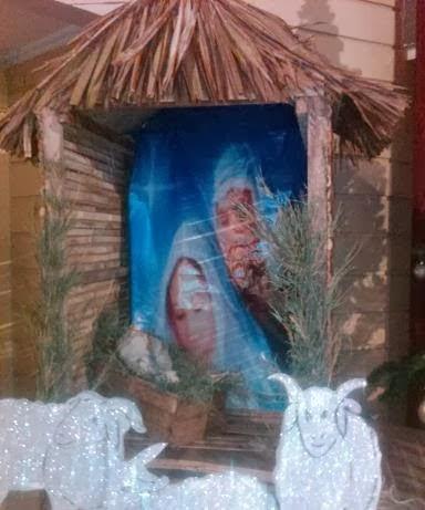 contoh dekorasi natal