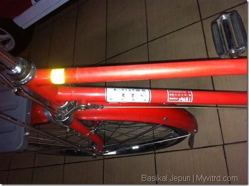 Basikal Tua Dari Jepun 5