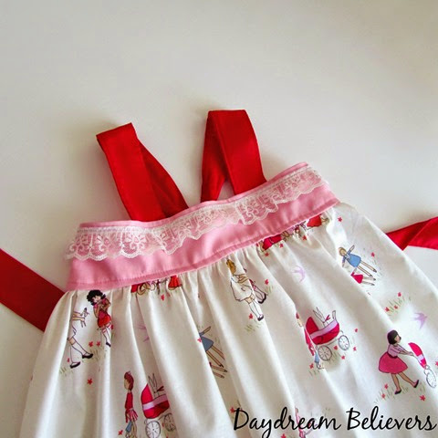 Gorgeous handmade clothing for girls. Daydream Believers Designs is the BEST! This shop creates classic pieces in modern fabrics.