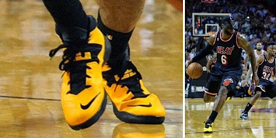 nike zoom soldier 7 pe timeline 140228 shoe soldier7 taxi King James and His 26 Different Nike Zoom Soldier VIIs in 2013 14