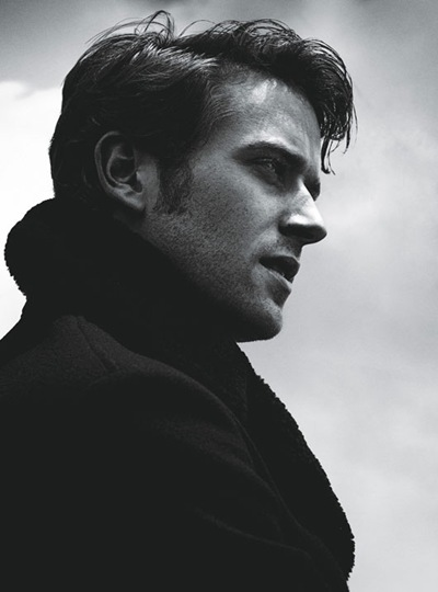 Armie Hammer by Francesco Carrozzini for W magazine, Sept 2011, Styled by Patrick Mackie | WMagazine.com
