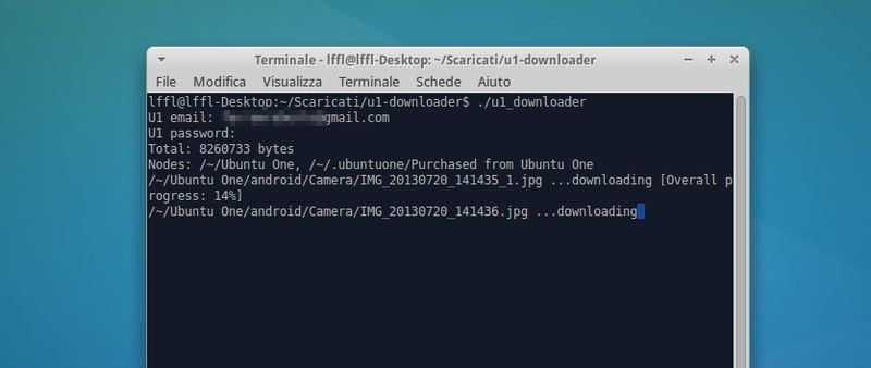 U1 Downloader in Linux