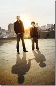 TOUCH:  Kiefer Sutherland (L) returns to FOX as Martin Bohm, a widower and single father, haunted by an inability to connect to his mute 11-year-old son (David Mazouz, R).  But everything changes when he discovers that his son possesses the gift of staggering genius - the ability to see things that no one else can and the patterns that connect seemingly unrelated events. TOUCH debuts with a special preview Wednesday, Jan. 25 (9:00-10:07 PM ET/PT) and then makes its series premiere Monday, March 19 (9:00-10:00 PM ET/PT) on FOX.  ©2012 Fox Broadcasting Co.  Cr:  Brian Bowen Smith/FOX