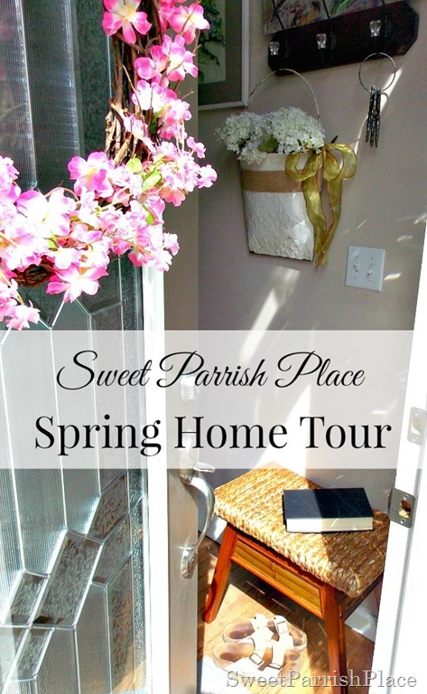 Spring Home Tour Graphic