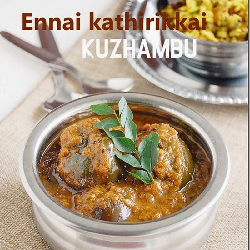 Ennai kathirikkai kuzhambu without coconut